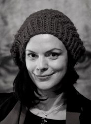 Улыбка поэта Жени Марковой на прощанье (Фото: Роман Екимов)