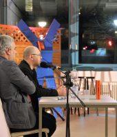 Алексей Иванов отвечает на вопросы в Берлине